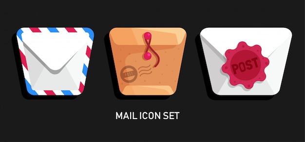 Mail-icon-set