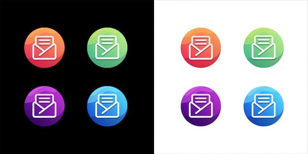 Mail-logo-design-set