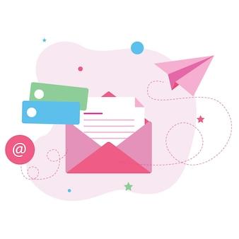 Mail-marketing-illustration