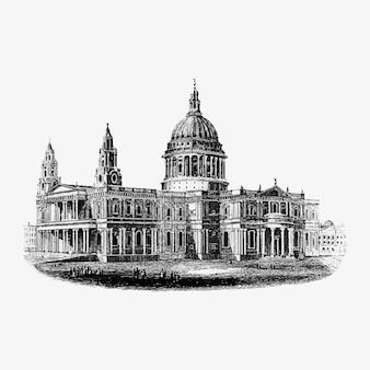 Majestätische londoner architektur