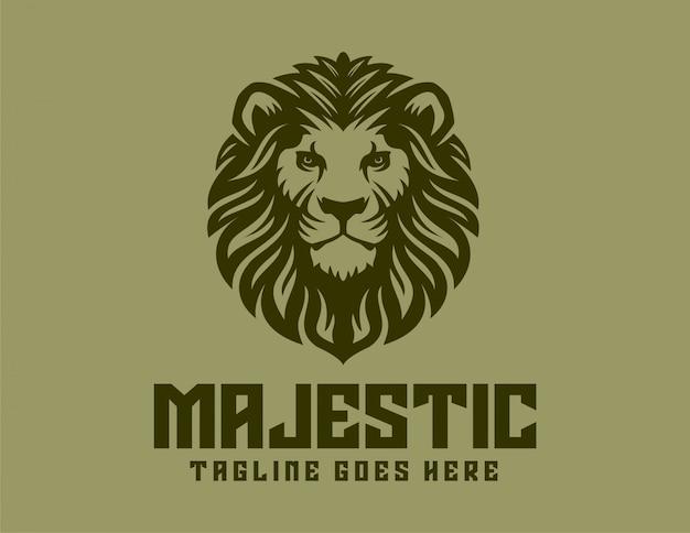 Majestischer löwe