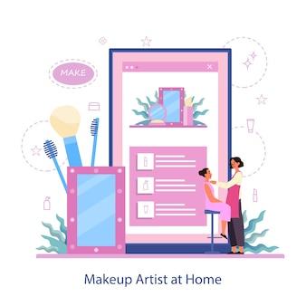 Make-up online-service