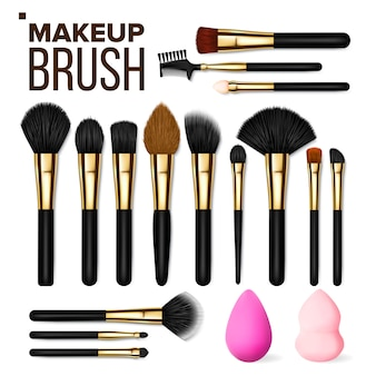Make-up pinsel set