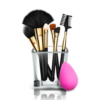 Make-up pinselhalter