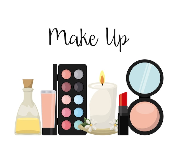Make-up weiblich