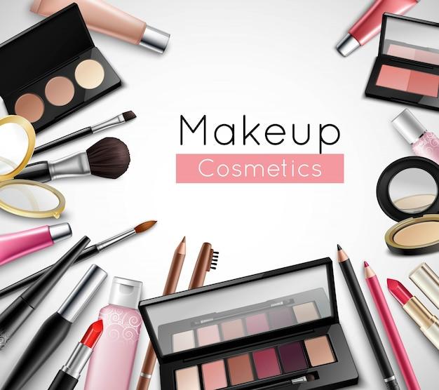 Make-upkosmetikschönheitstaschenzubehör