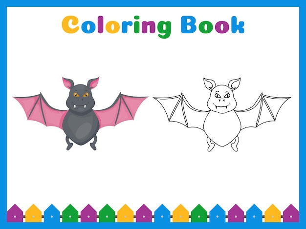Malbuch für kinder im vorschulalter mit einfachem lernlevel.