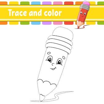 Malvorlagen für kinder nachzeichnen und ausmalen thema zurück zur schule