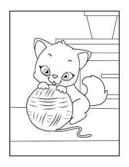 Malvorlagen süße katze malvorlagen für kinder