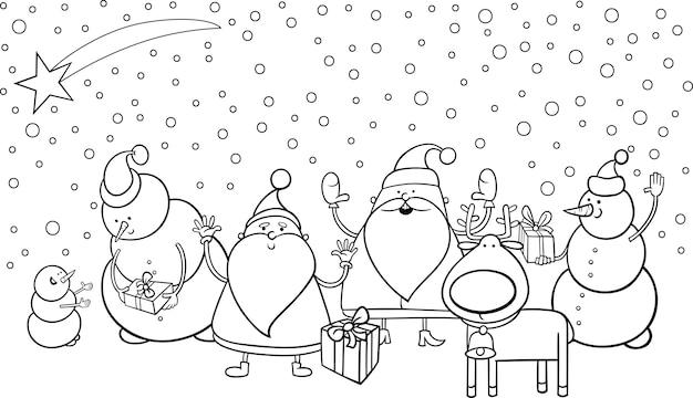 Malvorlagen weihnachts-zeichen