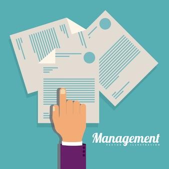 Management-abbildung