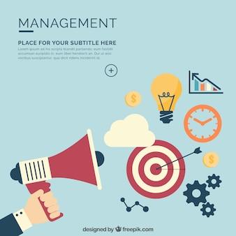 Management-hintergrund