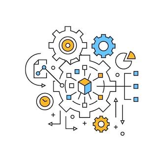 Management-illustration