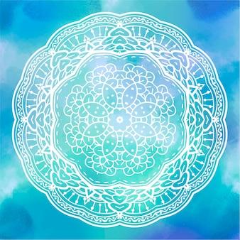 Mandala aquarell 1