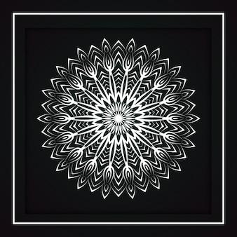 Mandala-dekorationsmuster