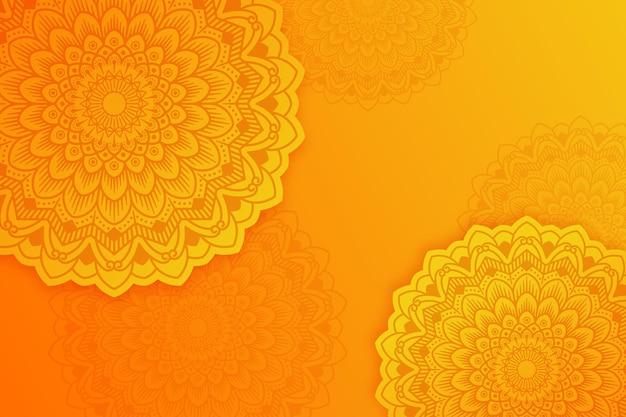 Mandala-design-hintergrund