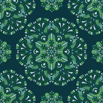 Mandala-design zum drucken. stammes-ornament.