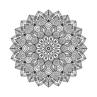 Mandala-einstellung in freepik