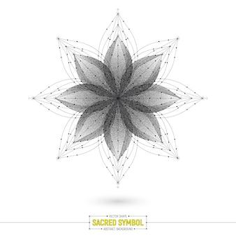 Mandala esoterisches heiliges symbol