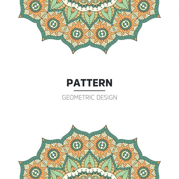 Mandala hintergrunddesign