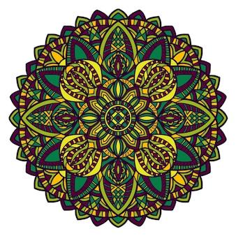 Mandala im böhmischen stil