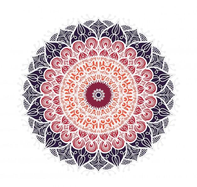 Mandala-linienvorlage