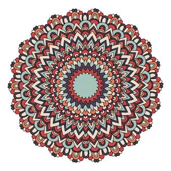Mandala mit osmanischen motiven