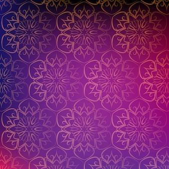 Mandala muster hintergrund