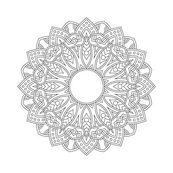 Mandala muster malvorlagen buch