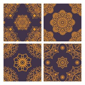 Mandala-muster sammlung