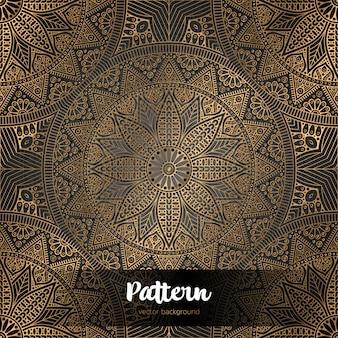 Mandala muster schablone kritzeleien skizze