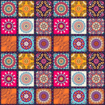 Mandala-musterentwurf
