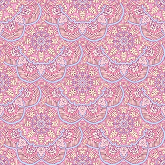 Mandala nahtlose muster fliesen vektor abstarct hintergrund. abstrakter geometrischer druck