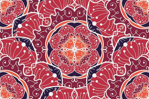 Mandala nahtlose muster