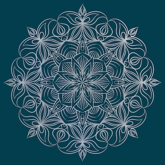 Mandala ornament abbildung