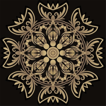Mandala ornament design.