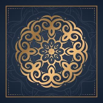 Mandala ornament hintergrund