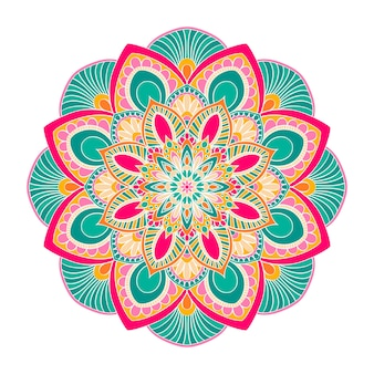 Mandala ornament. vintage dekorative elemente.