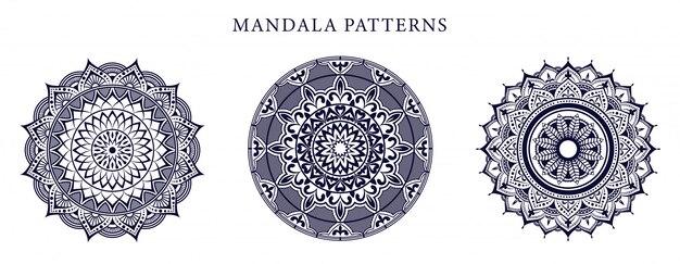 Mandala ornamental luxury gold farbe