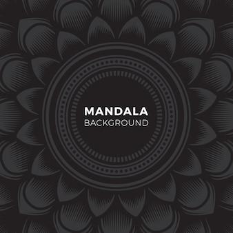 Mandala-tätowierungs-kunst-hintergrund