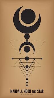 Mandala-vektor