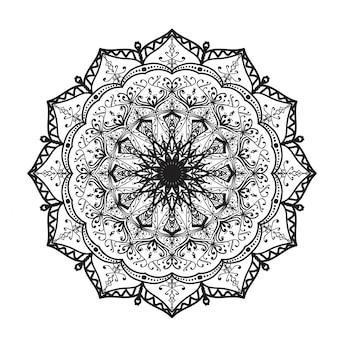Mandala-Verzierung