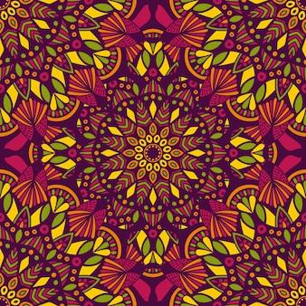 Mandala vintage design für den druck.