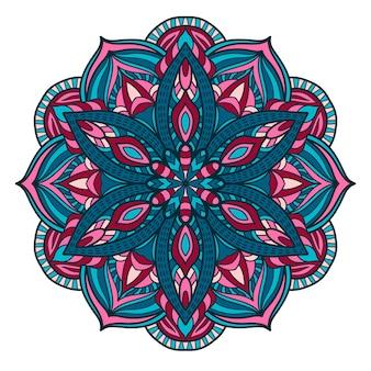 Mandala vintage design für den druck