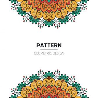 Mandalahintergrunddesign
