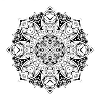 Mandalamalbuch, orientalische therapie, yoga