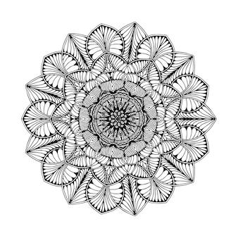 Mandalas für malbuch. orientalischer vektor, anti-stress-therapie-muster. yoga logos vec