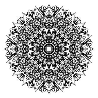 Mandalas malbuch, orientalische therapie, yoga