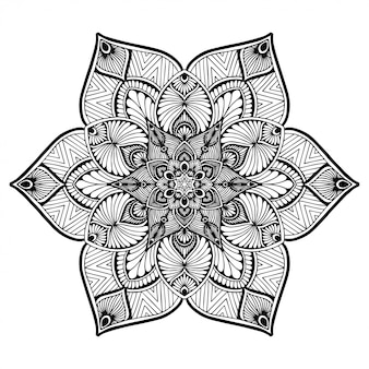Mandalas malbuch