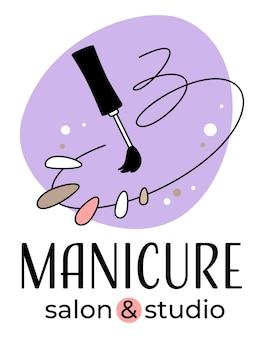Maniküre und studio nagelpflege und professionelle behandlung